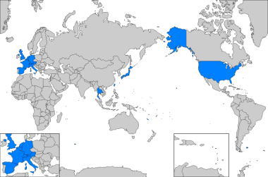 世界地図 日本地図 白地図ぬりぬり One Day One Trip So Netブログ